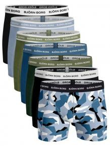 Björn Borg Ess. Cotton Shorts - 7 pack