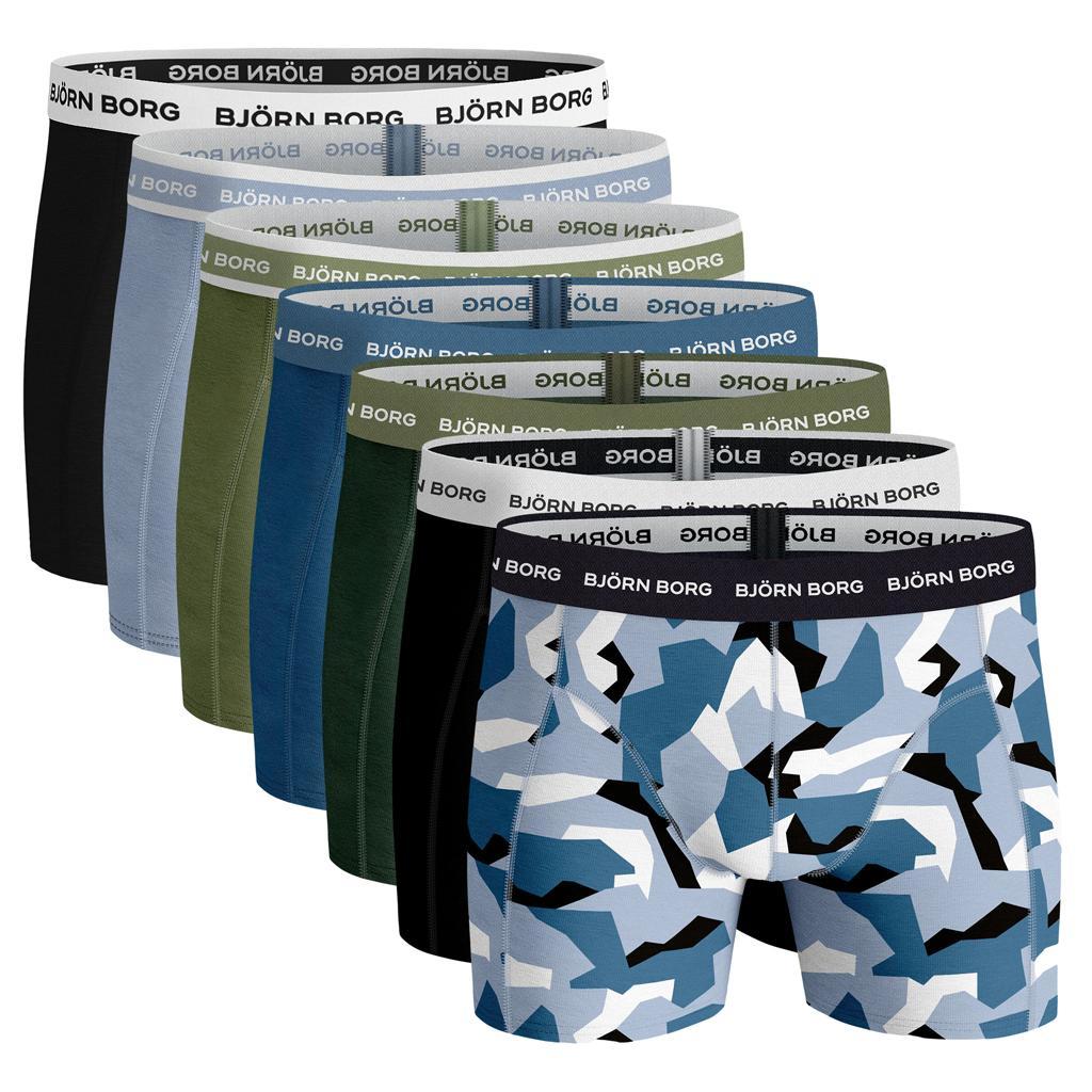 Björn Borg Ess. Cotton Shorts - 7 pack