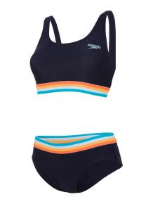 Speedo Solid U Back 2 Piece