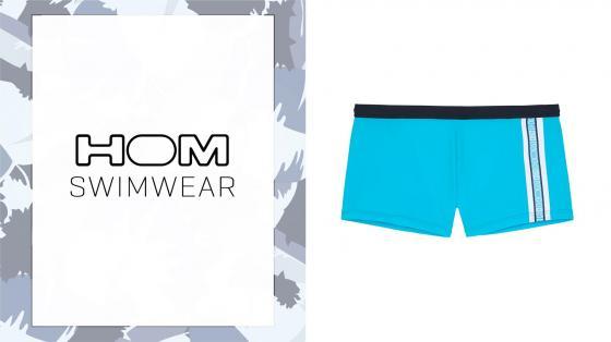 HOM Swim Shorts - Alize - Turquoise