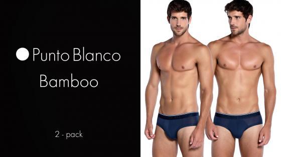 Punto Blanco 2p Mini Briefs - Bamboo