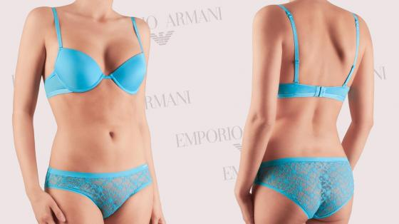 Emporio Armani Microfiber BH (push up)