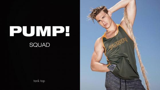 PUMP! Squad Tank