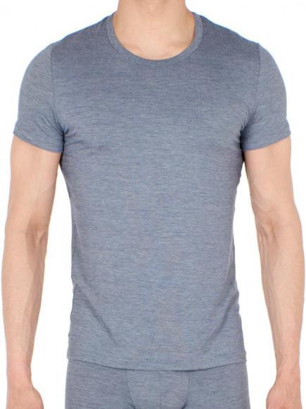 HOM T-Shirt Crew Neck - Gallant Blauw/Grijs
