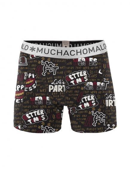 MuchachoMalo Short Mucha X print