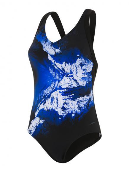 Speedo Sculpture Opalweb 1p Blauw/Wit
