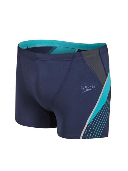 Speedo Speedo Fit Splice Aquashort Blauw