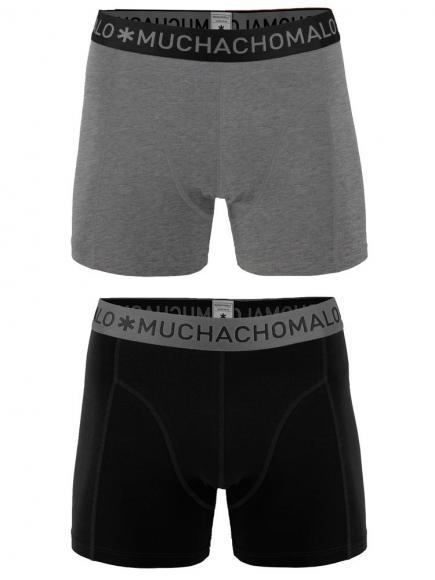 MuchachoMalo Shorts 2-pack Zwart/Grijs
