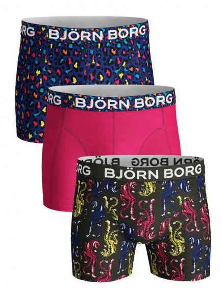 Bj�rn Borg Core Shorts 3-pack fores night