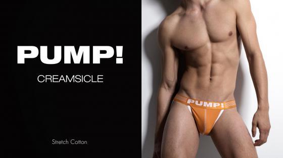 PUMP! Jock - Creamsicle