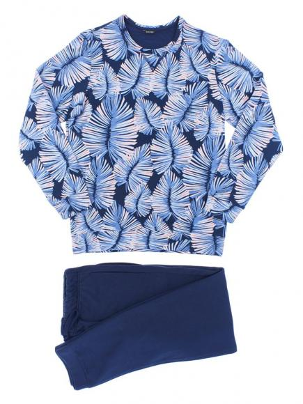 HOM Homewear - Isatis Blauw