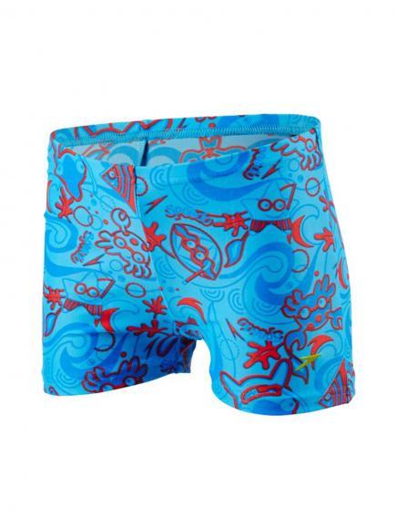 Speedo Seasquad Aquashort Blauw