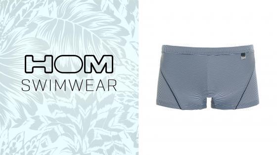 HOM Rhythm swim shorts