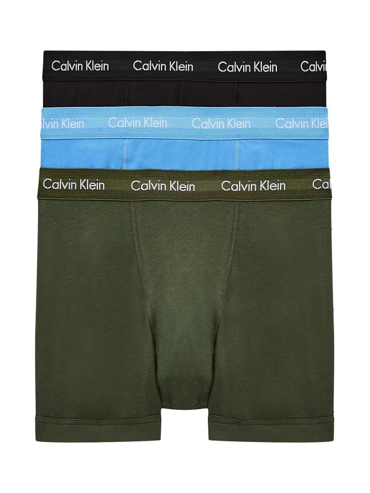 Calvin Klein 3p Trunk - Cotton Stretch