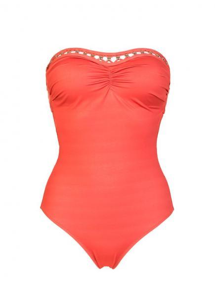 Sapph Sa Caleta Swimsuit (strapless) Oranje