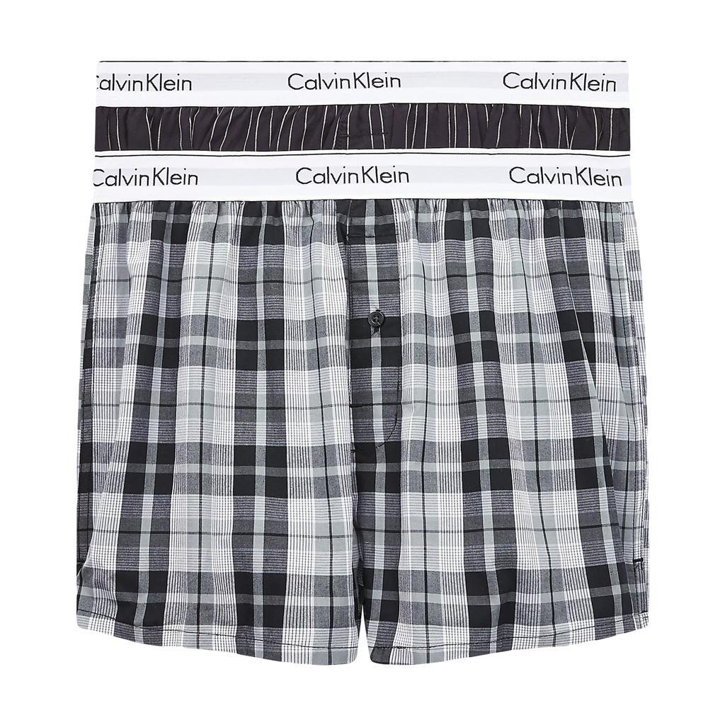 Calvin Klein 2p Boxer Slim - Modern Cotton