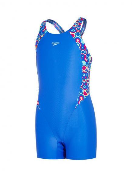 Speedo E10 Psychedelic Legsuit Blauw