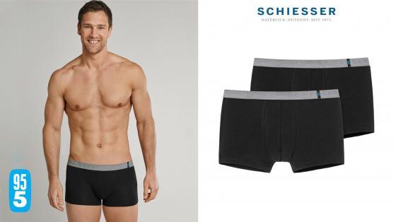Schiesser 95/5 Shorts 2PACK