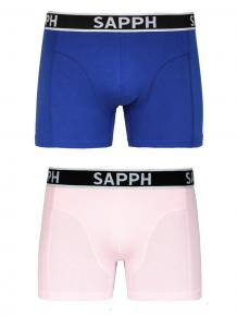 Sapph 2p Cotton Shorts - Mason