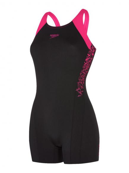 Speedo END Boom Splice Legsuit Zwart