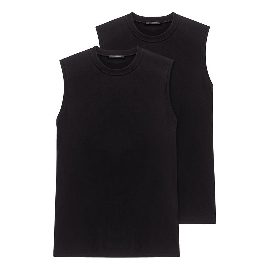 Schiesser 2-pack American T-Shirt 0/0