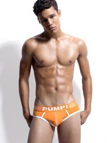 PUMP! Brief - Creamsicle