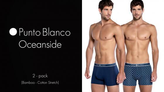 Punto Blanco 2p Boxer Briefs - Oceanside