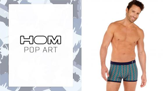 HOM Comfort Boxer Briefs - Pop Art
