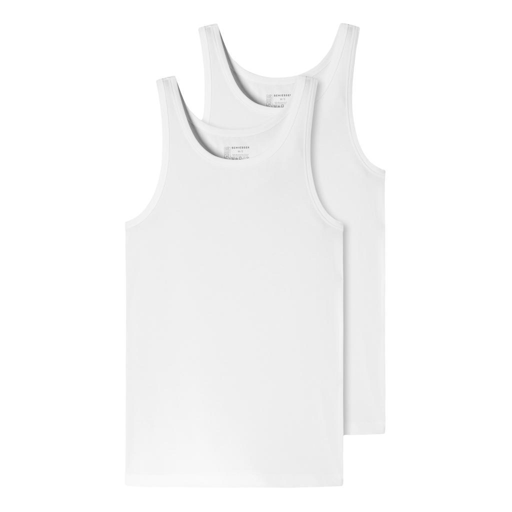 Schiesser 95-5 - Shirt 0/0 - 2-pack