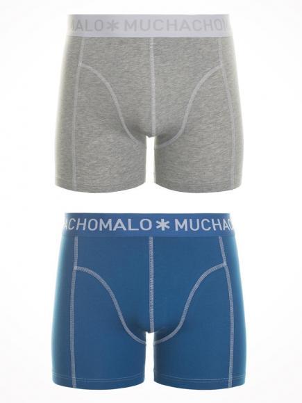 MuchachoMalo 2 Pack Short Blauw/Grijs