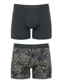 HOM 2p Long Boxer Briefs - Camo Dog
