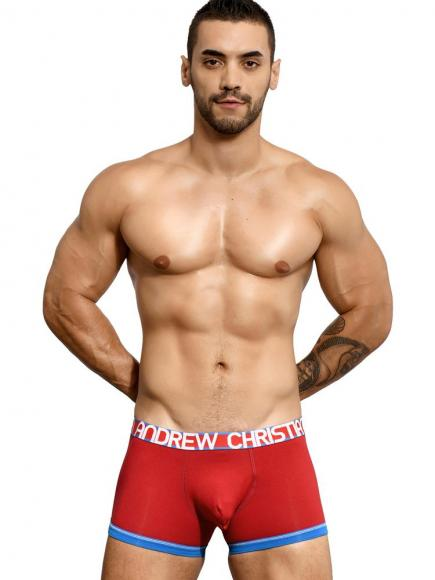 Andrew Christian Almost Naked Cotton Boxer Rood