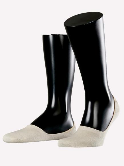 Esprit Basic No Show Socks 2-PACK Huidskleur