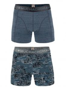 MuchachoMalo Boys 2-pack short print jeans