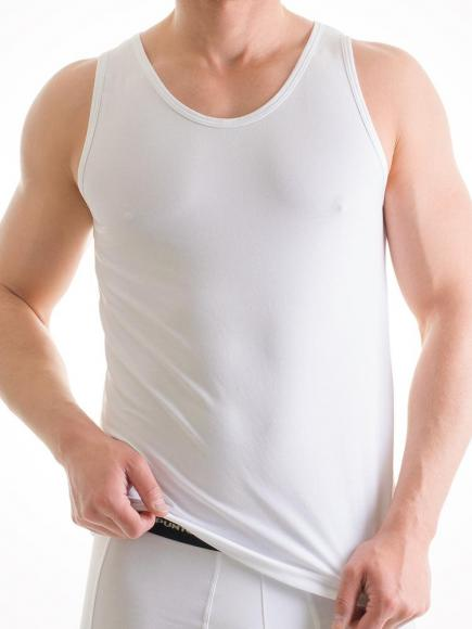 Punto Blanco Basix Shirt - Sleeveless Wit