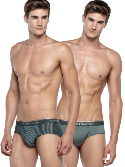 Punto Blanco 2p Mini Briefs - Community Blauw