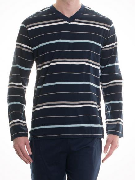 Christian Cane Pyjama Geoffrey Blauw