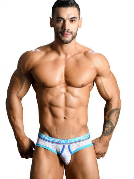 Andrew Christian Almost Naked Retro Mesh Brief Wit