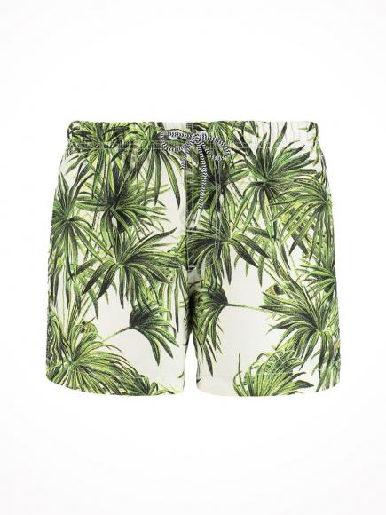 Shiwi Zwemshort Jungle Leaves multi color