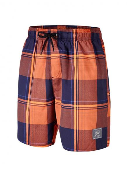 Speedo YD Check Leisure Watershort 18 Blauw/Oranje