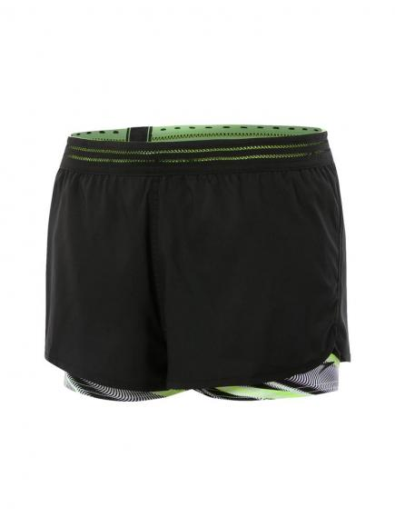 Speedo Reflect Wave Boardshort Zwart