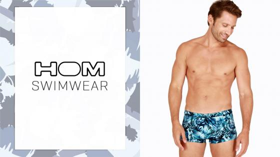 HOM Swim Shorts - Safari