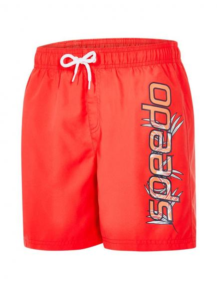 Speedo Graphic Leisure 15 Rood