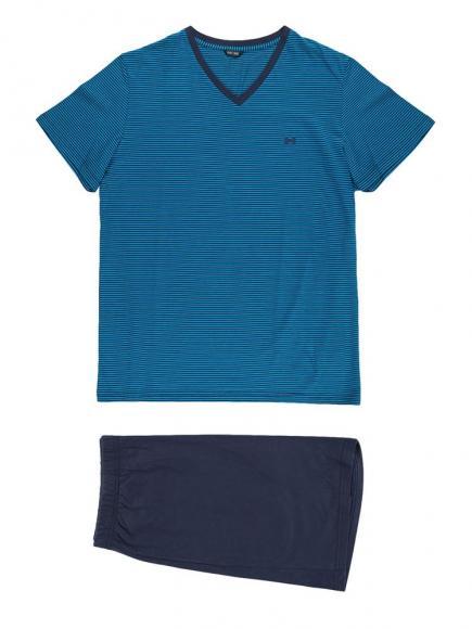 HOM Short Sleepwear - Guillauma Blauw