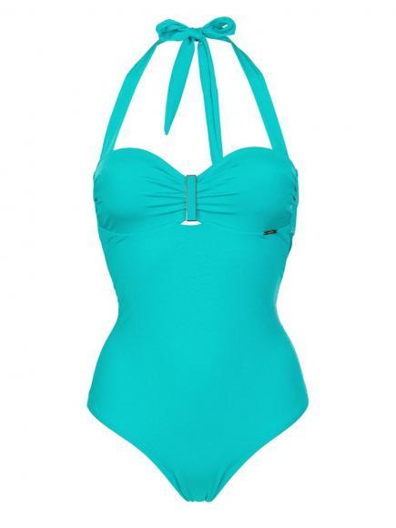 Sapph Riviera Swimsuit Blauw