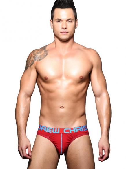 Andrew Christian Happy Brief Rood