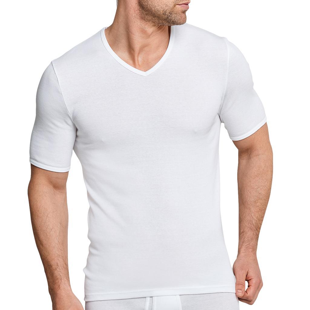 Schiesser Original Feinripp - T Shirt V-neck