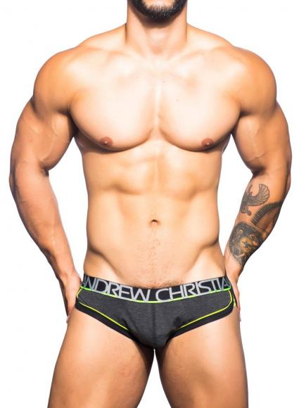 Andrew Christian Show-It RetroPop Brief Grijs
