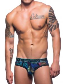 Andrew Christian Massive City Palms Mesh Brief