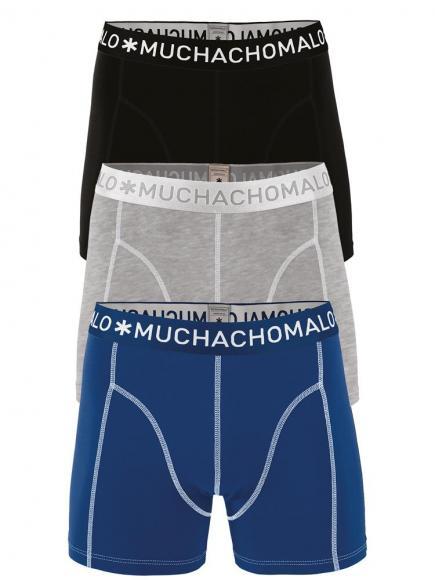 MuchachoMalo Shorts 3-pack Blauw/Zwart
